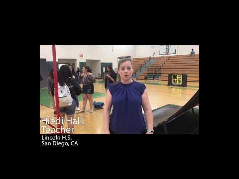 Hiedi Hall Lincoln High School San Diego, CA