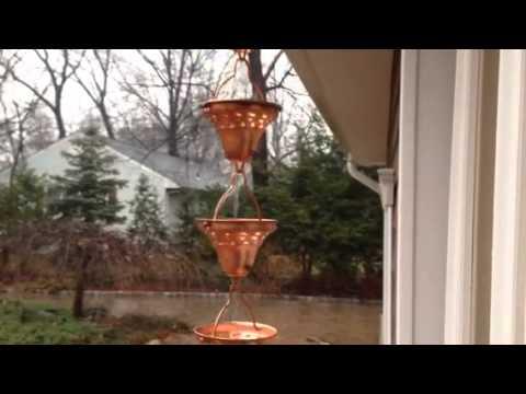 Rain Chain In Action