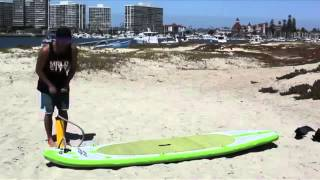 Video Aqua Marina 10' Inflatable Stand Up Paddle Board download MP3, 3GP, MP4, WEBM, AVI, FLV Oktober 2018