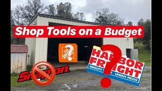 TOP 5 MUST HAVE TOOLS FOR YOUR SHOP! WHILE ON A BUDGET