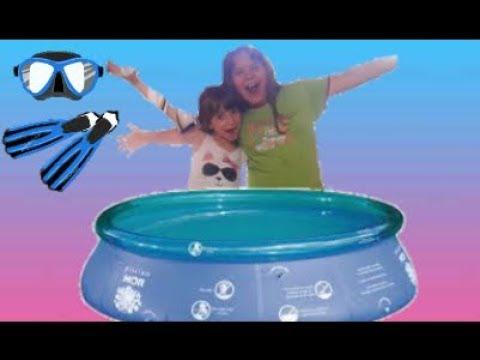 3 Perguntas e varios desafios na piscina das Irmãs Queiroz !!!!