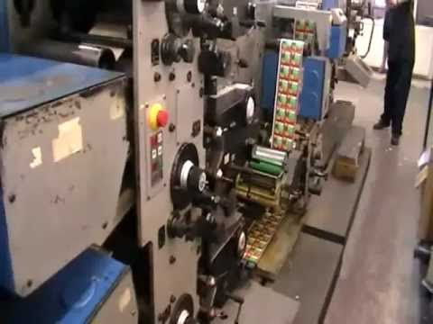 Gallus R200B 02 Label Press - 6 colour + Varnish