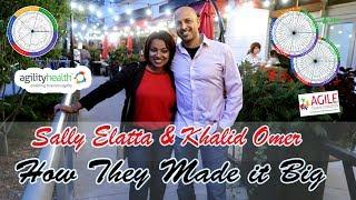 شركة امريكية بقيادة سودانية تغير مستقبل الأعمال في امريكا - ألأول Sally & Khalid part 1