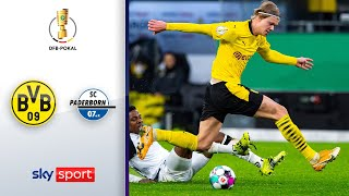 Haaland trifft in Verlängerung! | BVB - Paderborn 3:2 | Highlights - DFB-Pokal 2020/21