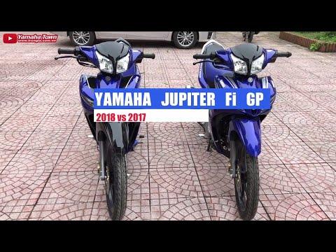 Yamaha Jupiter Fi GP 2018 Vs Jupiter Fi GP 2017 ▶ Đánh Giá Chi Tiết