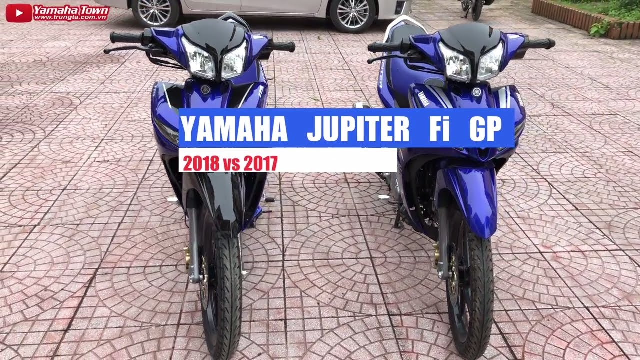 Yamaha Jupiter Fi GP 2018 vs Jupiter Fi GP 2017 ▷ Đánh giá chi tiết