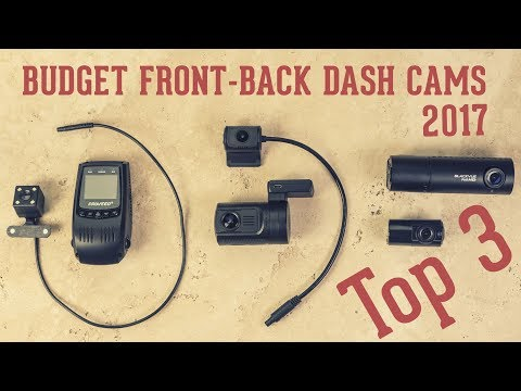 Top 3 Budget Front & Back Dash Cameras (Dual Channel Cams): Mini 0906, Blackvue DR490, Pruveeo F5