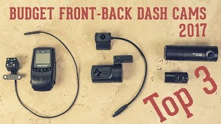 Video Top 3 Budget Front & Back Dash Cameras (Dual Channel Cams): Mini 0906, Blackvue DR490, Pruveeo F5 download MP3, 3GP, MP4, WEBM, AVI, FLV Juli 2018