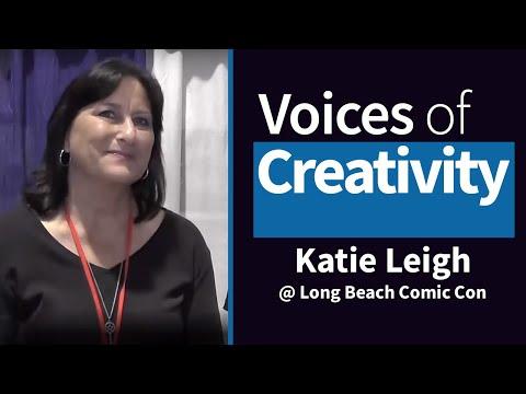 Voices of Creativity  Katie Leigh at Long Beach Comic Con 2014