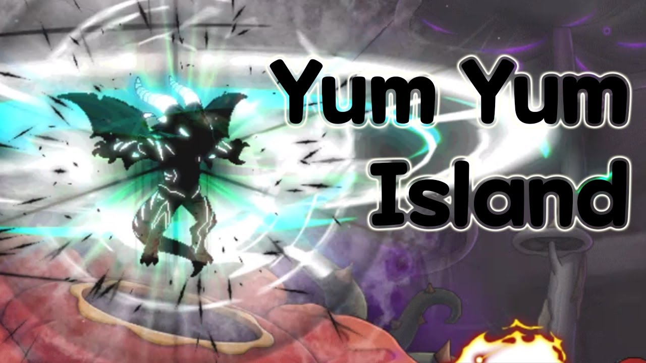 NEW AREA! Yum Yum Island | MapleStory| GMS |