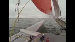 Tornado Catamaran - Around French Island race