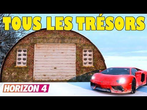 Forza Horizon 4 Tous Les Tresors De Grange Emplacements Lieux
