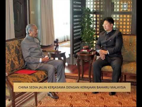 China sedia jalin kerjasama dengan kerajaan baharu Malaysia