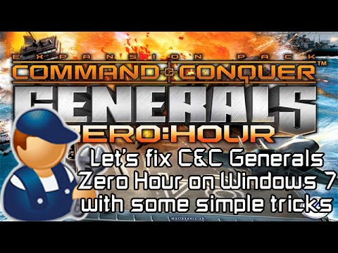 command and conquer generals windows 7 patch download