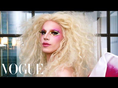 RuPaul's Drag Race Star Aquaria Gets Ready for Pride Week | Beauty Secrets | Vogue
