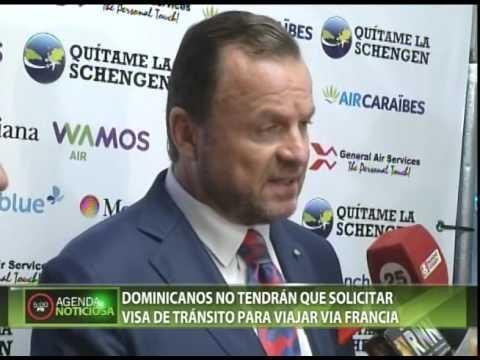 Dominicanos no tendrán que solicitar visa de tránsito para viajar a Francia
