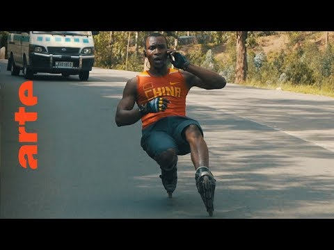Karim - Kigalis Rollerblade-Star | Africa Riding | ARTE