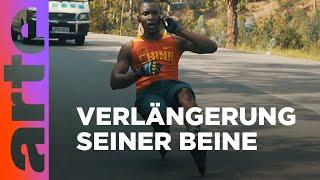 Karim - Kigalis Rollerblade-Star   Africa Riding   ARTE