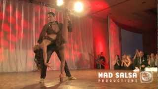 SURPRISE SHOW - Adolfo Indacochea & Tania Cannarsa at Vancouver International Salsafestival