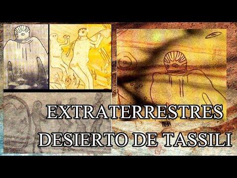Las pinturas extraterrestres del Desierto de Tassili