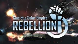 Sins of a Solar Empire Rebellion Gameplay (HD)