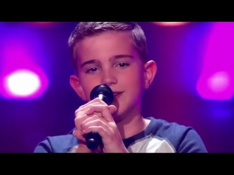 12-Year Old Kwint Sings Sia's Elastic Heart - The Voice Kids