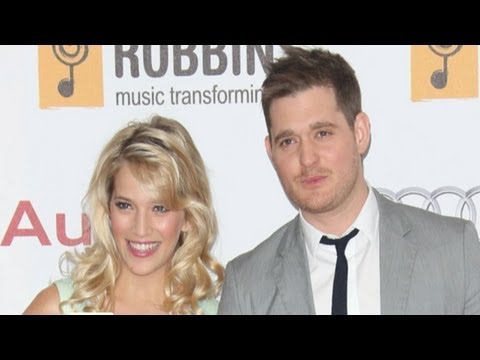 Jazz Crooner Michael Buble Learning To Love Newborn Son