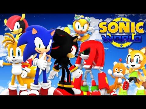 Играем в фан-игры - Sonic World