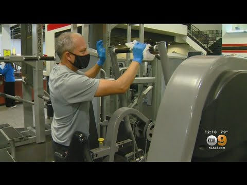 Gold's Gym In Venice Reopens; Schwarzenegger Skips Workout Over Face Mask Policy