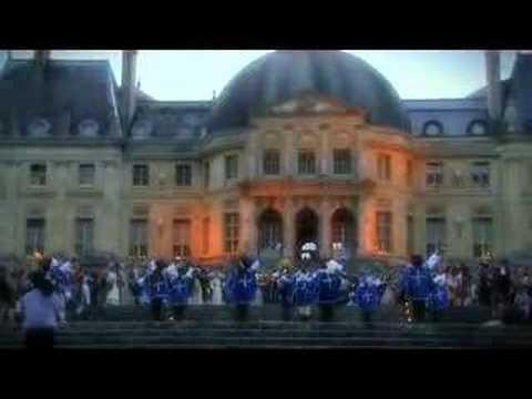 fête de Nicolas Fouquet à Vaux le Vicomte