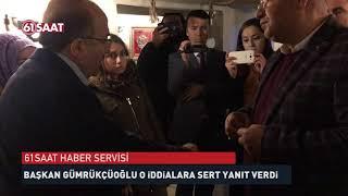 Başkan Gümrükçüoğlu, çok sert yanıt verdi...