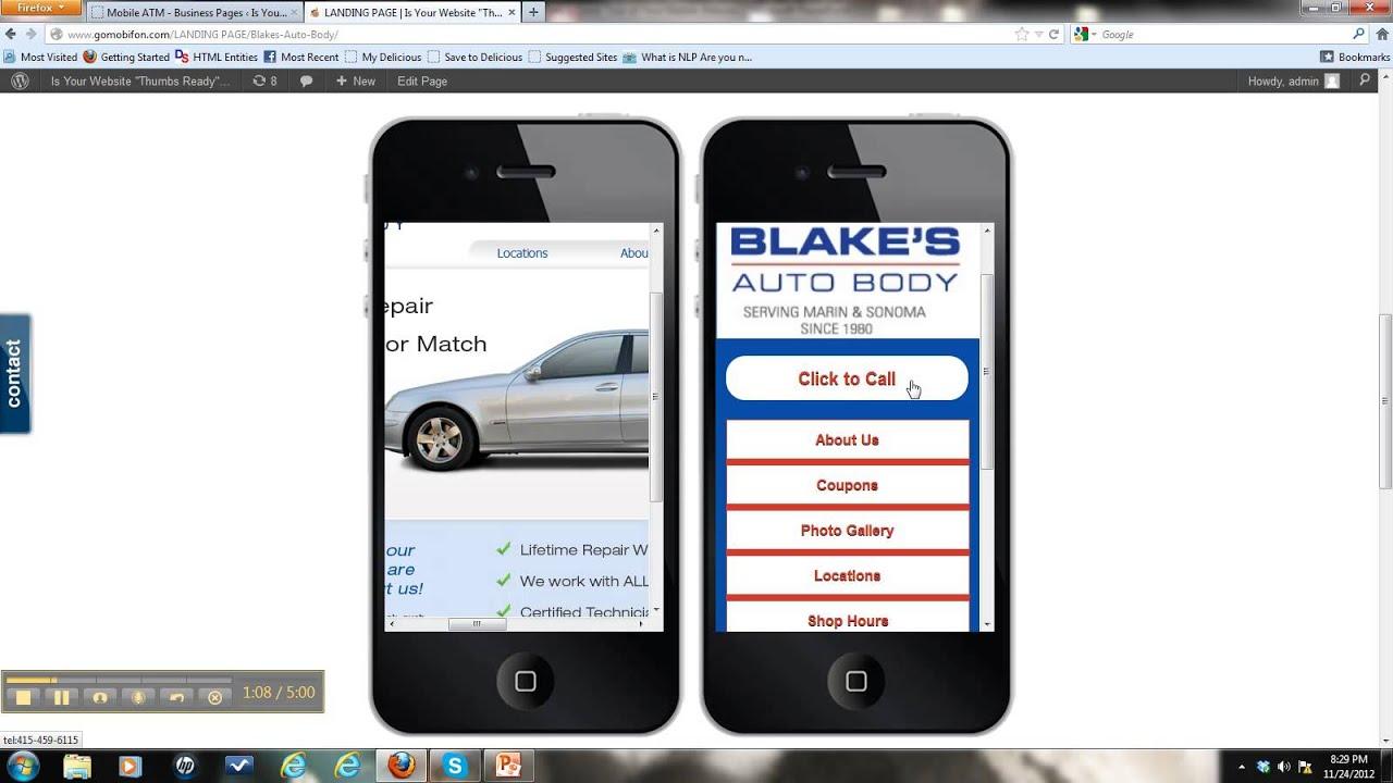 Blakes Auto Body >> Blakes Auto Body Gomobifon Quick Tour