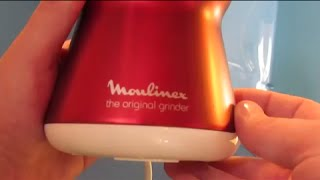 Moulinex THE ORIGINAL GRINDER (UNBOXING) HD