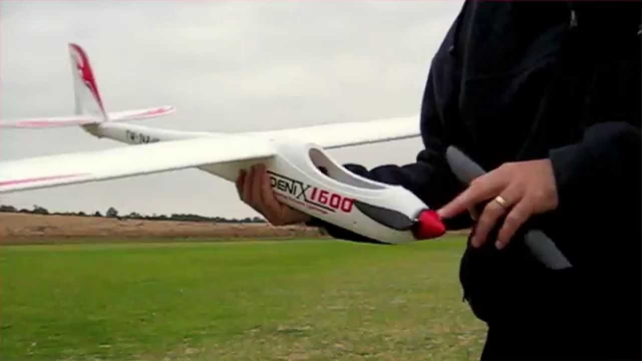 Phoenix 1600 Epo Composite Glider Episode 5 With Turn