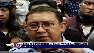 Polisi Amankan Ambulans Gerindra Bawa Batu, Begini Reaksi Fadli Zon - LIM 22/05