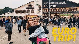 Euro Trip Travel Guide: Oktoberfest in Munich, Ljubljana, Slovenia, & More!