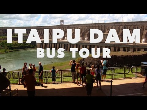 ITAIPU DAM - BUS TOUR