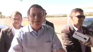 Entrevista coletiva com o presidente Jair Bolsonaro Sobre crítica a governadores do nordeste