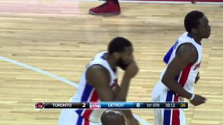 NBA: Andre Drummond Finishes the Oop with the Dynamite Dunk
