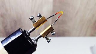как сделать крутой выжигатель по дереву своими руками / How to make a mini pyrography tool