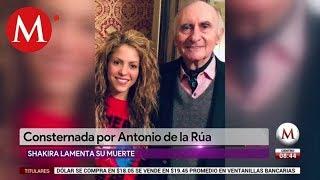 SHAKIRA DESPIDIÓ CON UN CONMOVEDOR MENSAJE A FERNANDO DE LA RÚA