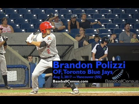 Brandon Polizzi, OF, Toronto Blue Jays — August 3, 2017