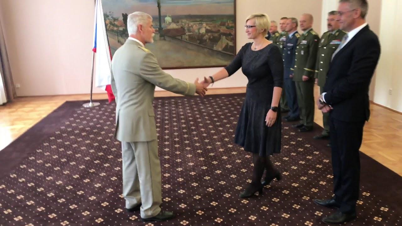Armádní generál Petr Pavel převzal Kříž obrany státu