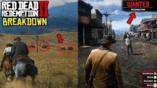 Red Dead Redemption 2 Official Gameplay Trailer BREAKDOWN - Everything You Missed