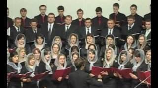 "Молодёжный хор - ""Ночь Настаёт ""; Russian Christian Christmas Song (choir)"