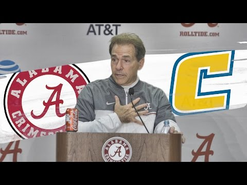 Hear what Saban said after Alabama's ugly win over Chattanooga
