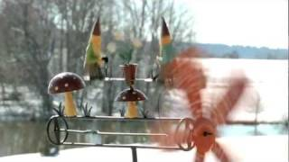 Spinning Gnome Whirligig On A Stake - Plow & Hearth