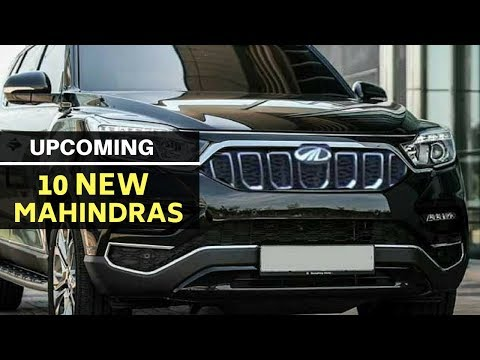 These are 10 upcoming Mahindra SUVs for India
