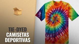 Productos 2018, Los 10 Mejores Tie-Dyed: Koloa Surf Co. Colorful Tie-Dye T-Shirts in 17 Colors.