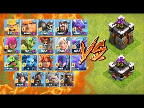 ALL TROOPS vs GEARED UP ARCHER TOWER - Builder Base Level 6 CoC Update | Clash of Clans